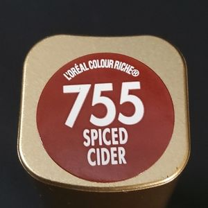 Loreal Lipstick Spiced Cider #755